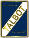 Эмблема Talbot