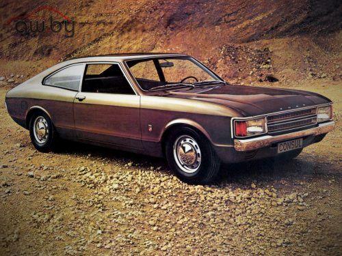 Ford Consul Coupe GGCL 2000