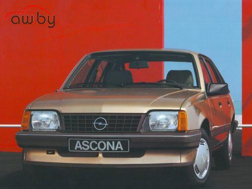 Opel Ascona C CC 1.6 i