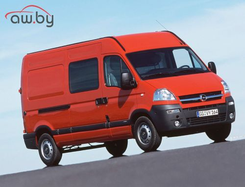 Opel Movano Bus 2.5 CDTI 6-speed