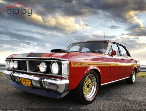 xb gt ford falcon coupe минск модель