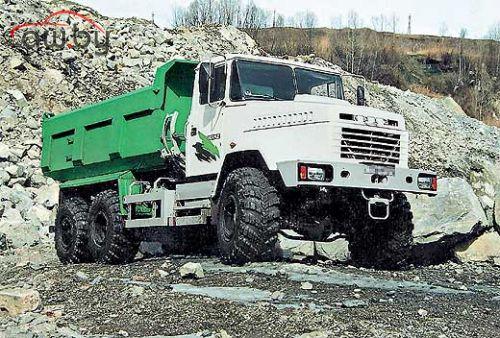 КрАЗ 6503  ЯМЗ-238Б