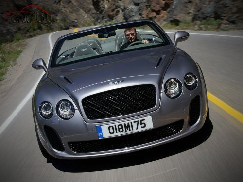 Bentley Continental Supersports Convertible 6.0 W12