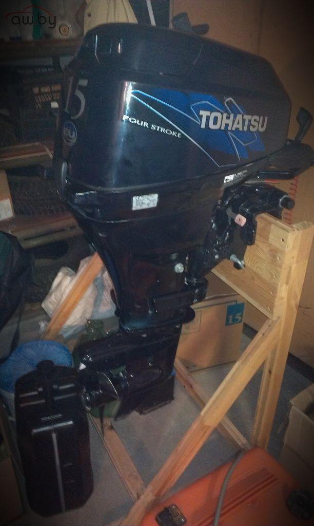 лодочный мотор тохатсу 20 четырехтактный фото