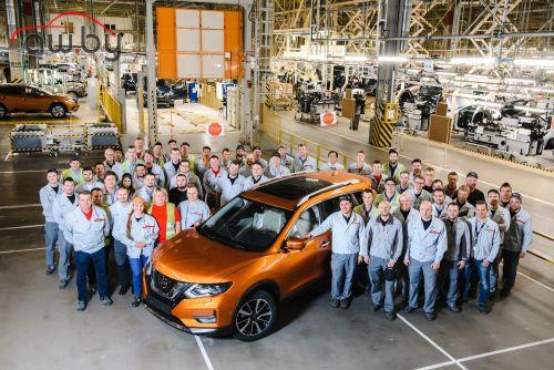 В России начали выпуск обновлённого Nissan X-Trail
