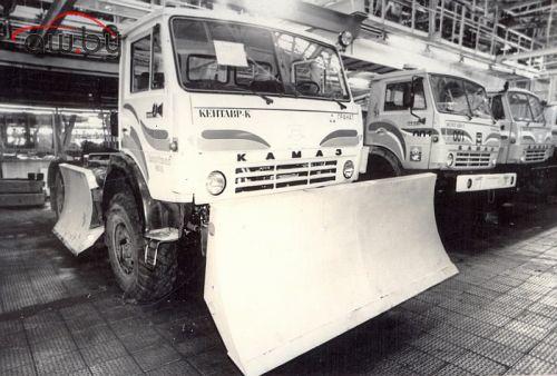 КАМАЗ «Кентавр»: появилось фото редкого грузовика-трактора