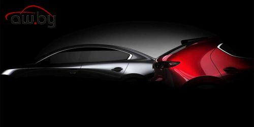 Mazda раскрыла дату премьеры новой «тройки»