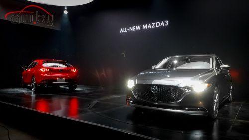 Mazda3 нового поколения — первые живые фото и информация