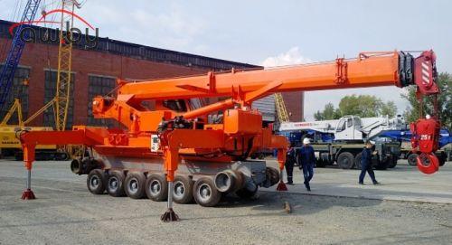 В России построили кран, который может заменить вертолёт