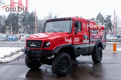 МАЗ представил «уникальный капотный грузовик»