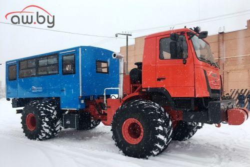 В России построили автобус, который проедет везде