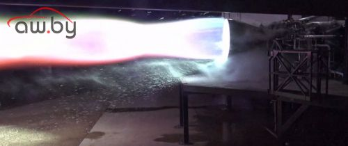 Маск показал работу двигателя для межпланетного корабля