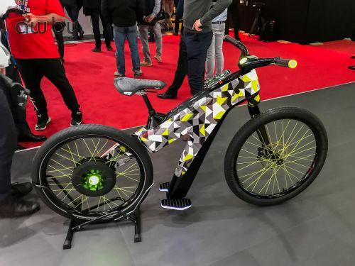 Skodа сделала велосипед без педалей