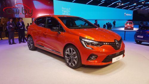 Новое поколение Renault Clio: огромные дисплеи