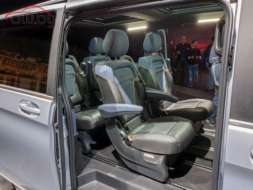 Новый Mercedes: 400 км на электричестве и много мест