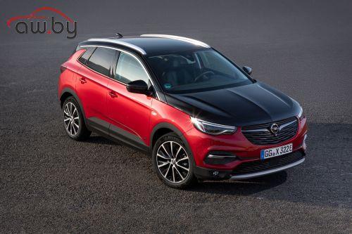 Opel представил 300-сильный полноприводный кроссовер