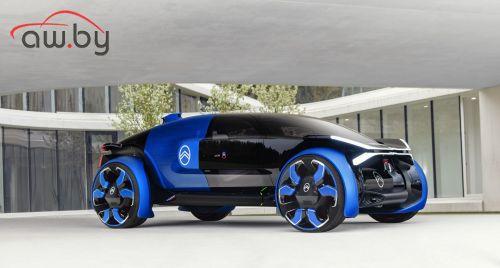 Новый «Ситроен» получит колеса диаметром 1 метр (фото)
