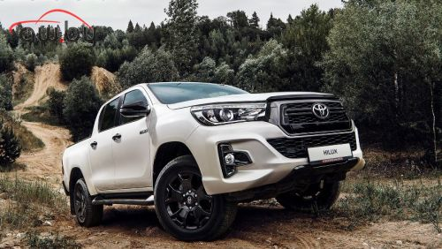 У пикапа Toyota появилась версия за 3 000 000 рублей