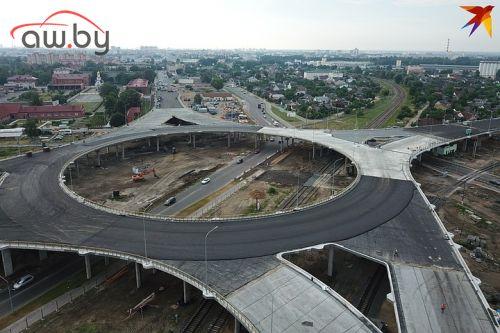 В Беларуси построили гигантскую развязку (почти как в Китае)