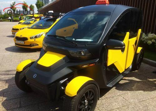«Калашников» представил автомобиль для такси
