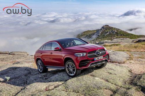 Новый необычный Mercedes: еще один внедорожник-купе