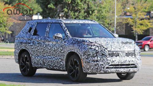Каким будет новый Mitsubishi Outlander: первые подробности