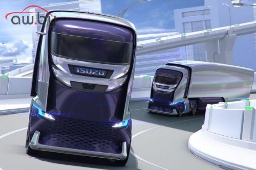 Isuzu анонсировала грузовик с био-дизайном (фото)