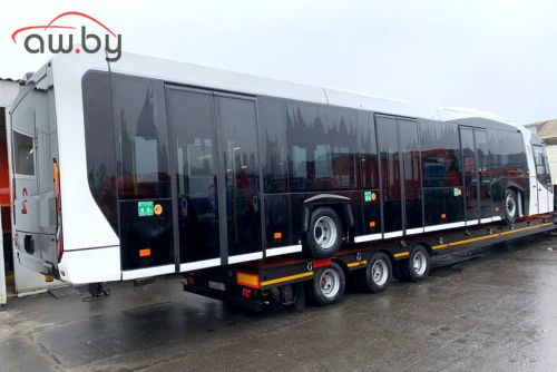 В Сети неожиданно рассекретили новый автобус МАЗ