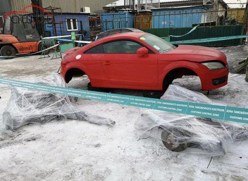 Во Владивостоке задержали радиоактивные автозапчасти из Японии