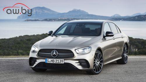 Mercedes E-Класса сможет определять местоположение рук водителя