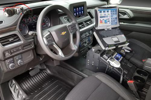 Chevrolet Tahoe превратили в полицейский перехватчик