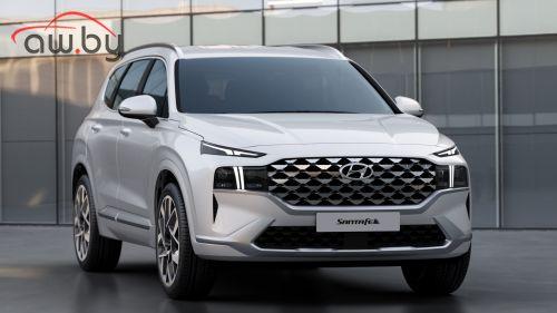 Hyundai представила обновленный Santa Fe