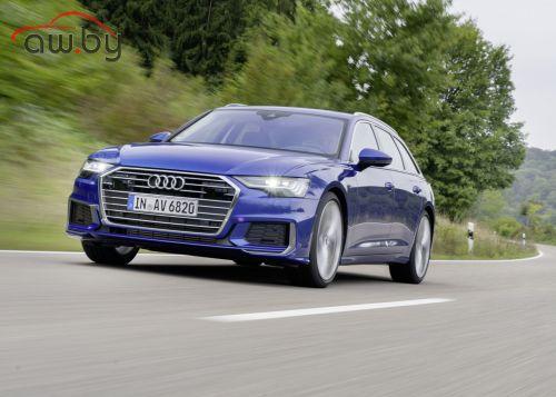 В России стартовал прием заказов на универсал Audi A6