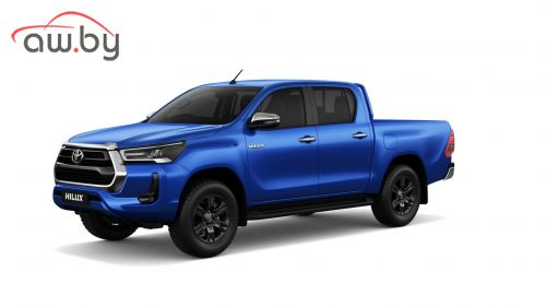 Toyota представила рестайлинг пикапа Hilux