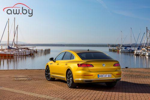 Volkswagen привез в Россию лифтбек Arteon
