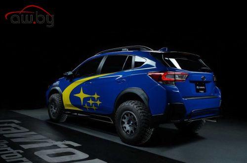 Subaru XV превратили в раллийный багги