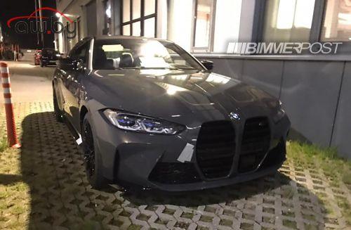 Фото новой BMW M4 с огромными «ноздрями» попало в Сеть