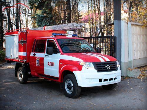 УАЗ представил пожарную машину на базе «Профи»