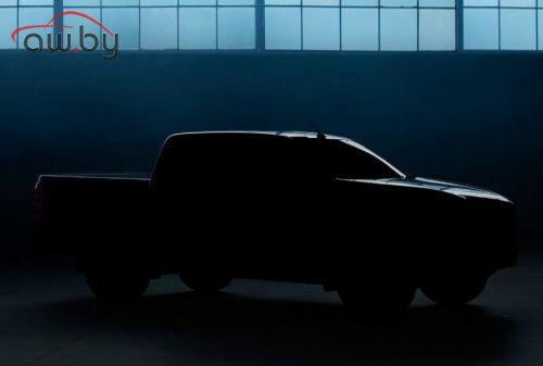 Новый пикап Mazda BT-50: опубликовано первое изображение