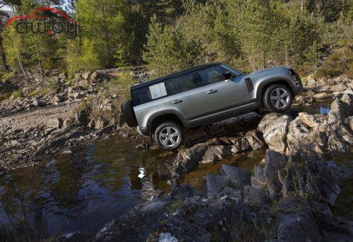 В России начался прием заказов на новый Land Rover Defender