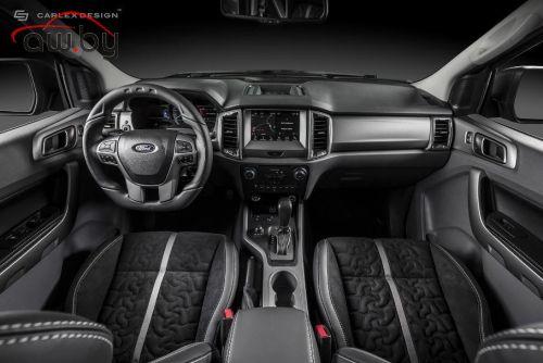 Посмотрите на агрессивный Ford Ranger c роскошным салоном