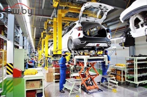 Половину всех иномарок в России выпускают на трех заводах