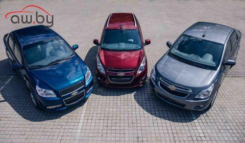 Три бюджетных Chevrolet появятся на российском рынке
