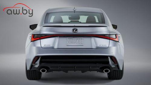 Дизайн нового Lexus IS раскрыли на фотографиях