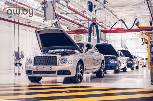 Bentley завершила производство флагманского седана Mulsanne