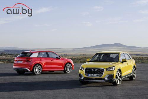 Audi представляет совершенно новый компактный кроссовер Audi Q2