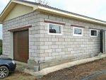 Особенности строительства гаража из пеноблоков
