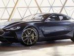 Внешность концепта BMW 8-Series рассекретили до премьеры