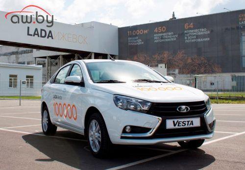 Lada Vesta отметила первый большой юбилей