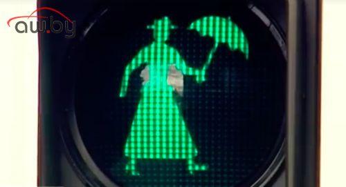 В Австралии поставили «светофор Мэри Поппинс»